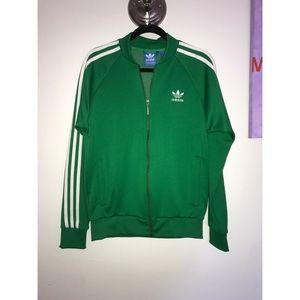 Adidas Trefoil Men's Track Jacket Kelly Green